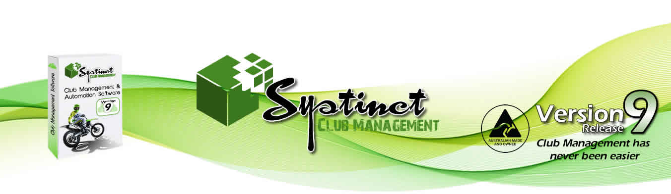 Systinct the ultimate in club and business management